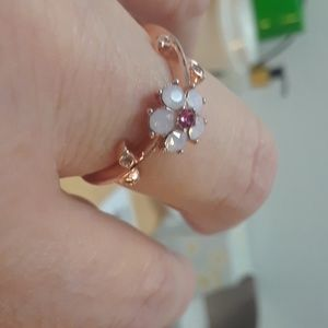 Jewelry - Mother of Pearl Cherry Blossom Ring.